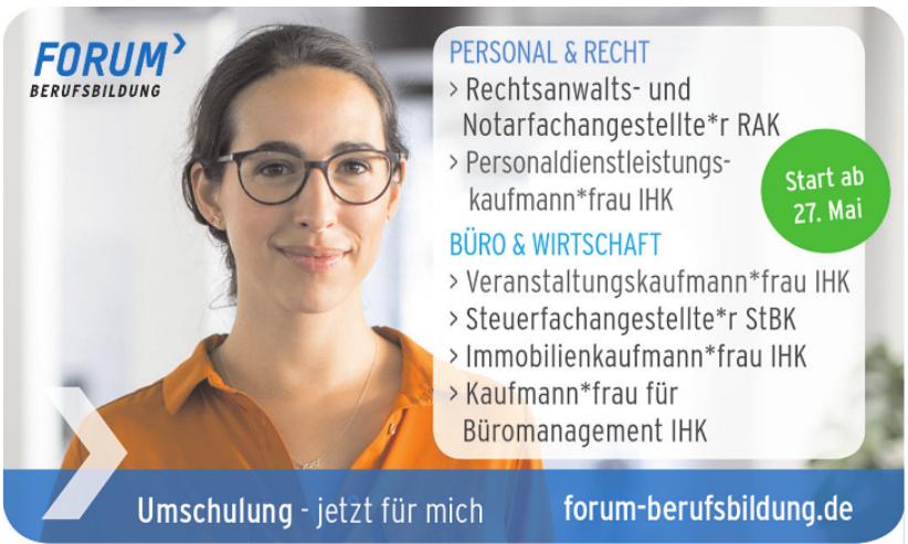 Forum Berufsbildung