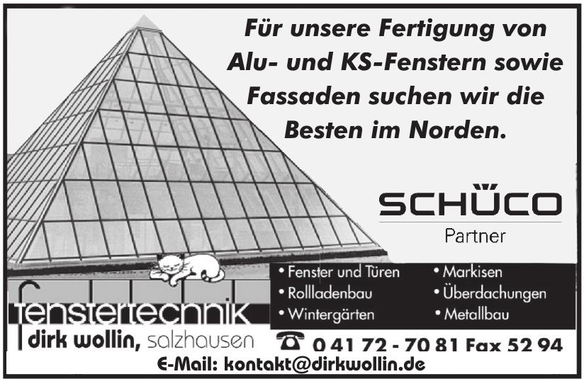 Fenstertechnik Dirk Wollin