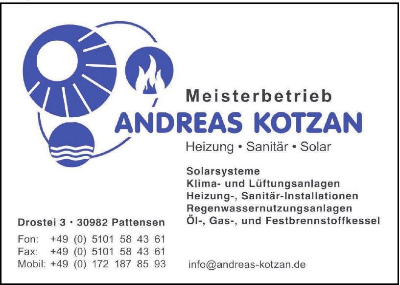 Meisterbetrieb Andreas Kotzan