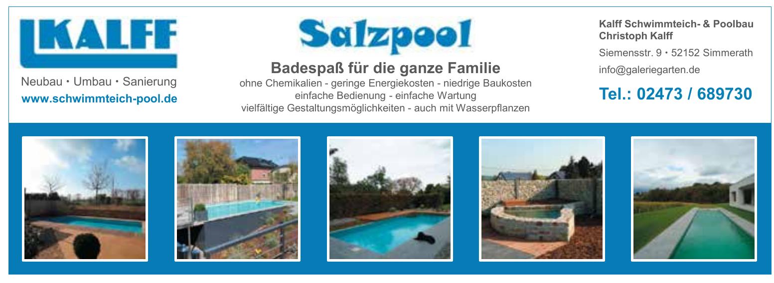 Kalff Schwimmteich- & Poolbau