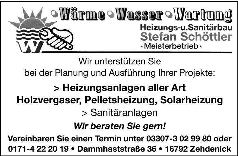Heizungs- u. Sanitärbau Stefan Schöttler