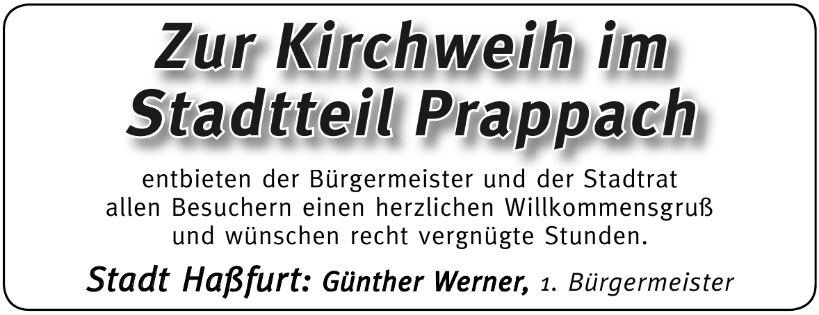 Stadt Haßfurt: Günther Werner