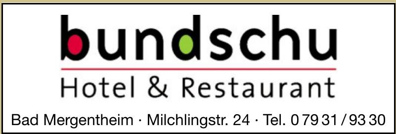 Bundschu Hotel & Restaurant