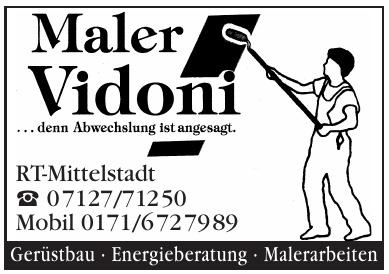 Maler Vidoni
