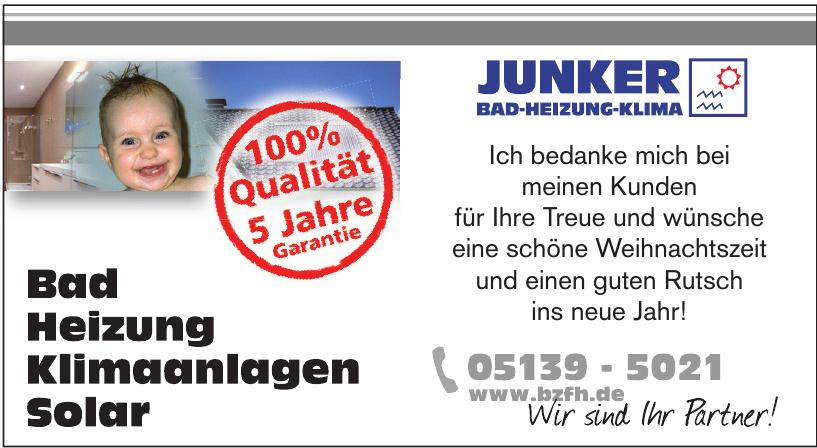 Junker Bad-Heizung-Solar