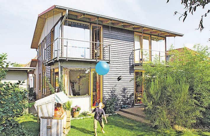Ein Vorteil: Neue Häuser sind technisch auf dem letzten Stand und Instandhaltungskosten fallen erst in späteren Jahren an