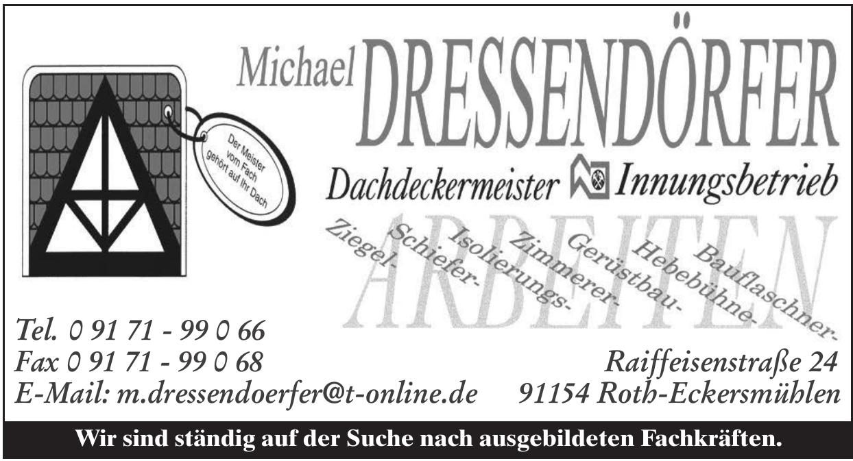 Michael Dressendörfer Dachdeckermeister