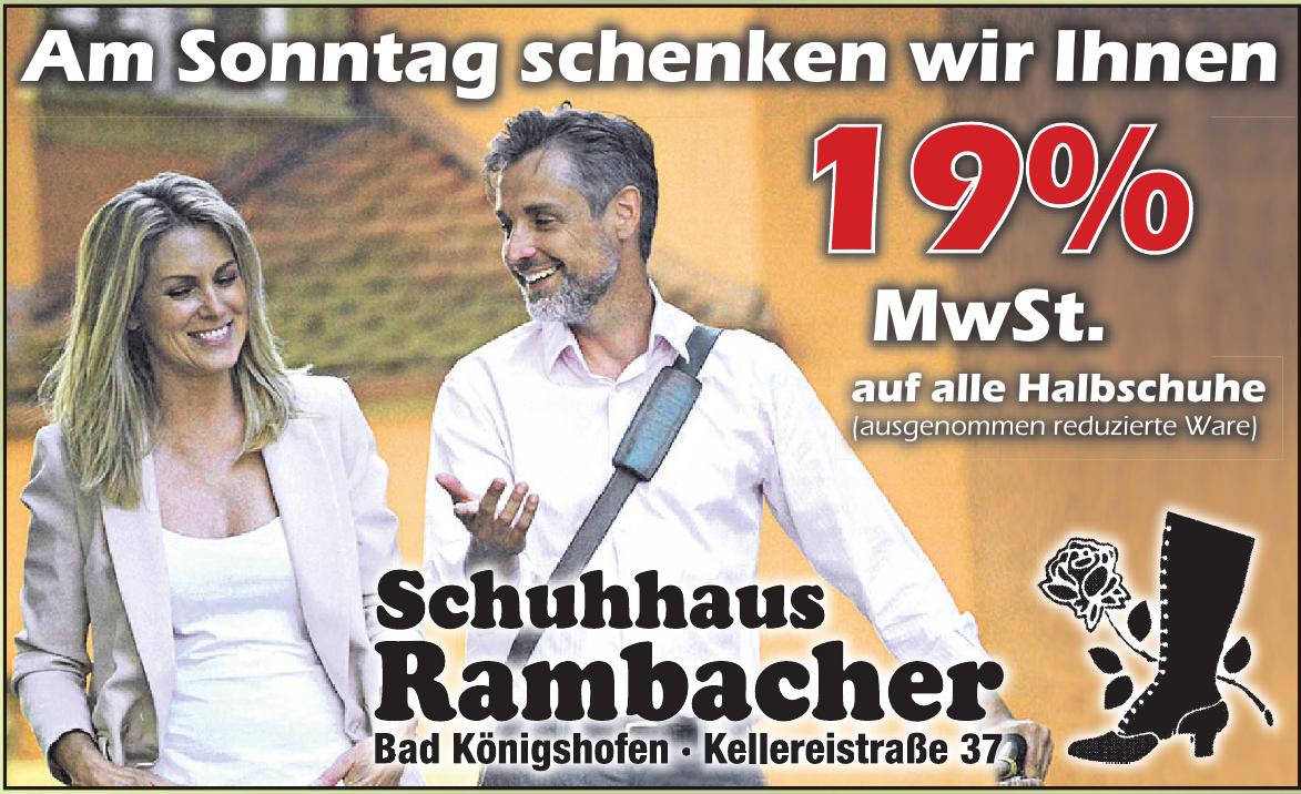 Schuhhaus Rambacher
