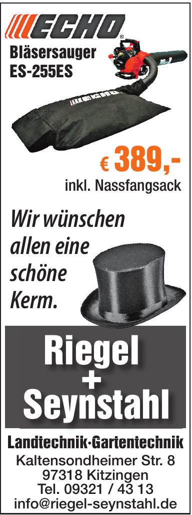 Riegel + Seynstahl
