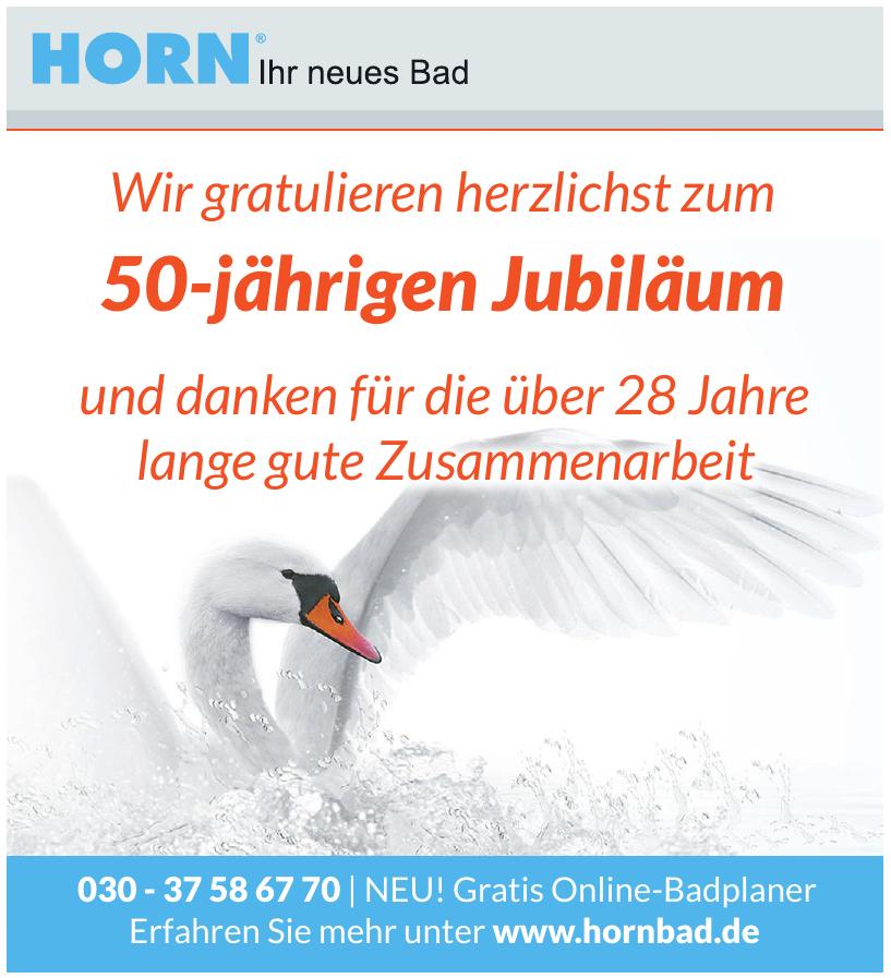 Horn Bad