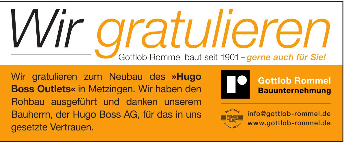 Gottlob Rommel Bauunternehmung