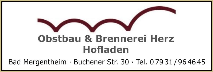 Obstbau & Brennerei Herz Hofladen