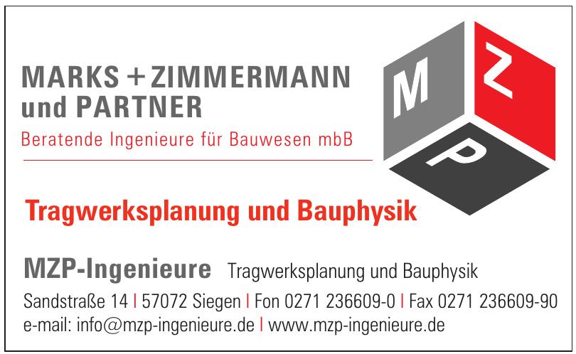 MZP-Ingenieure Tragwerksplanung und Bauphysik