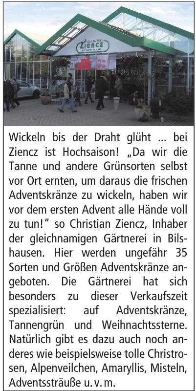 Gärtnerei Ziencz