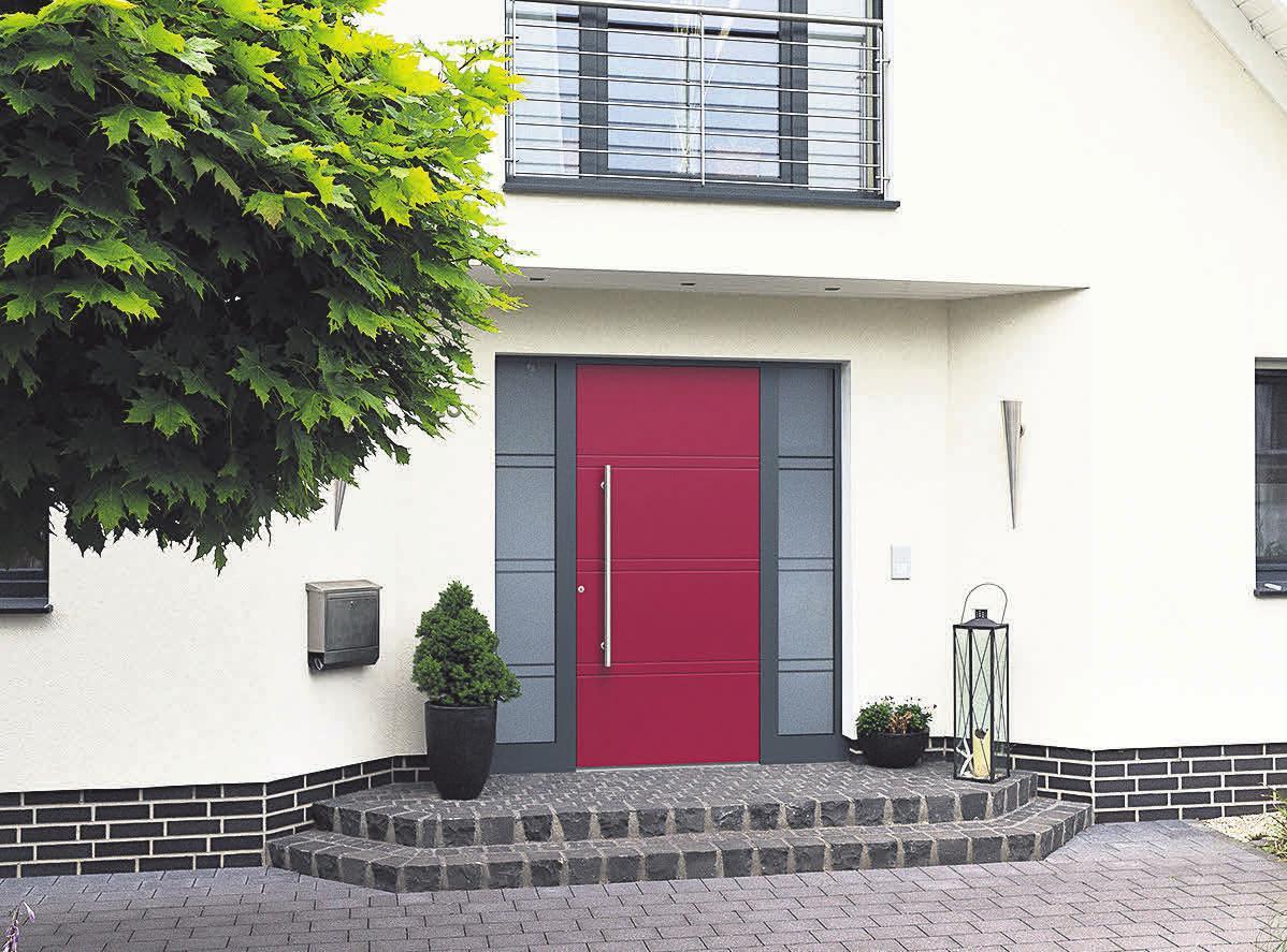 Bei den Türen von KOMPOtherm trifft Sicherheit Design und Funktionalität.