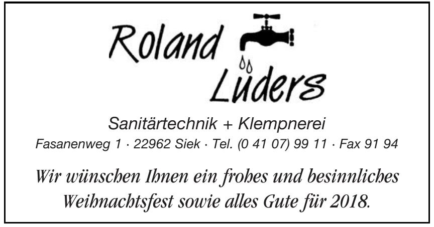 Roland Lüders