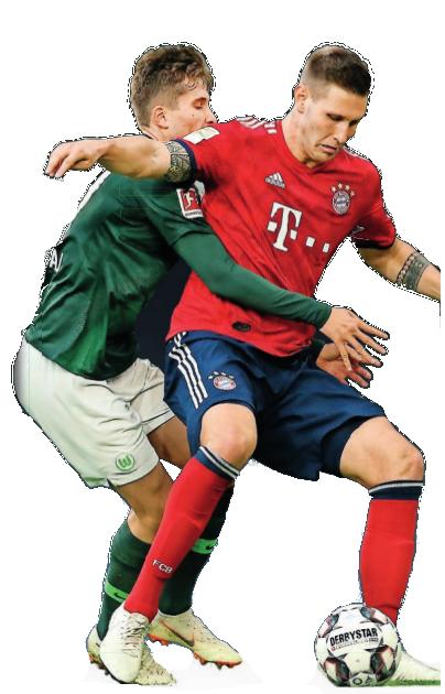 Die besten Zweikampf-Teams der Liga: der VfL (l. Elvig Rexhbecaj)