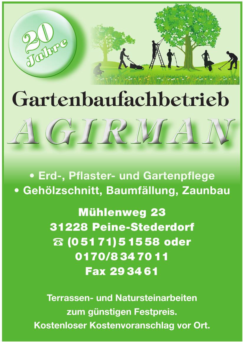 Gartenbaufachbetrieb Agirman