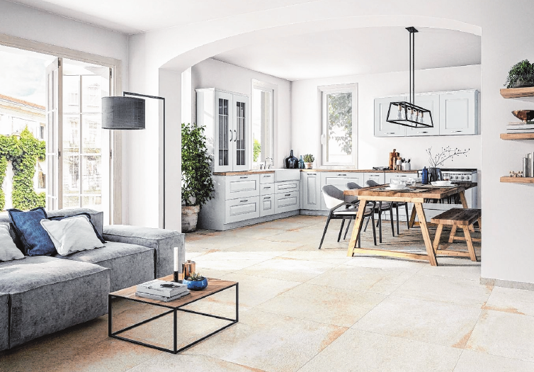 Eine Wandgestaltung mit keramischen Fliesen ist nicht nur ästhetisch, sondern auch praktisch – keramische Oberflächen sind leicht zu reinigen. FOTO: DJD/DEUTSCHE-FLIESE.DE/STEULER