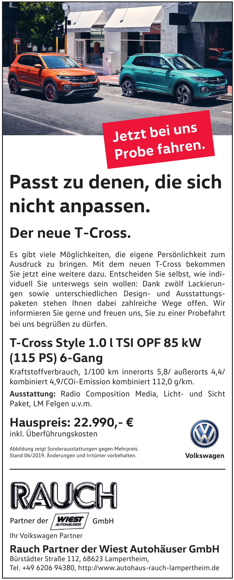 Rauch Partner der Wiest Autohäuser GmbH