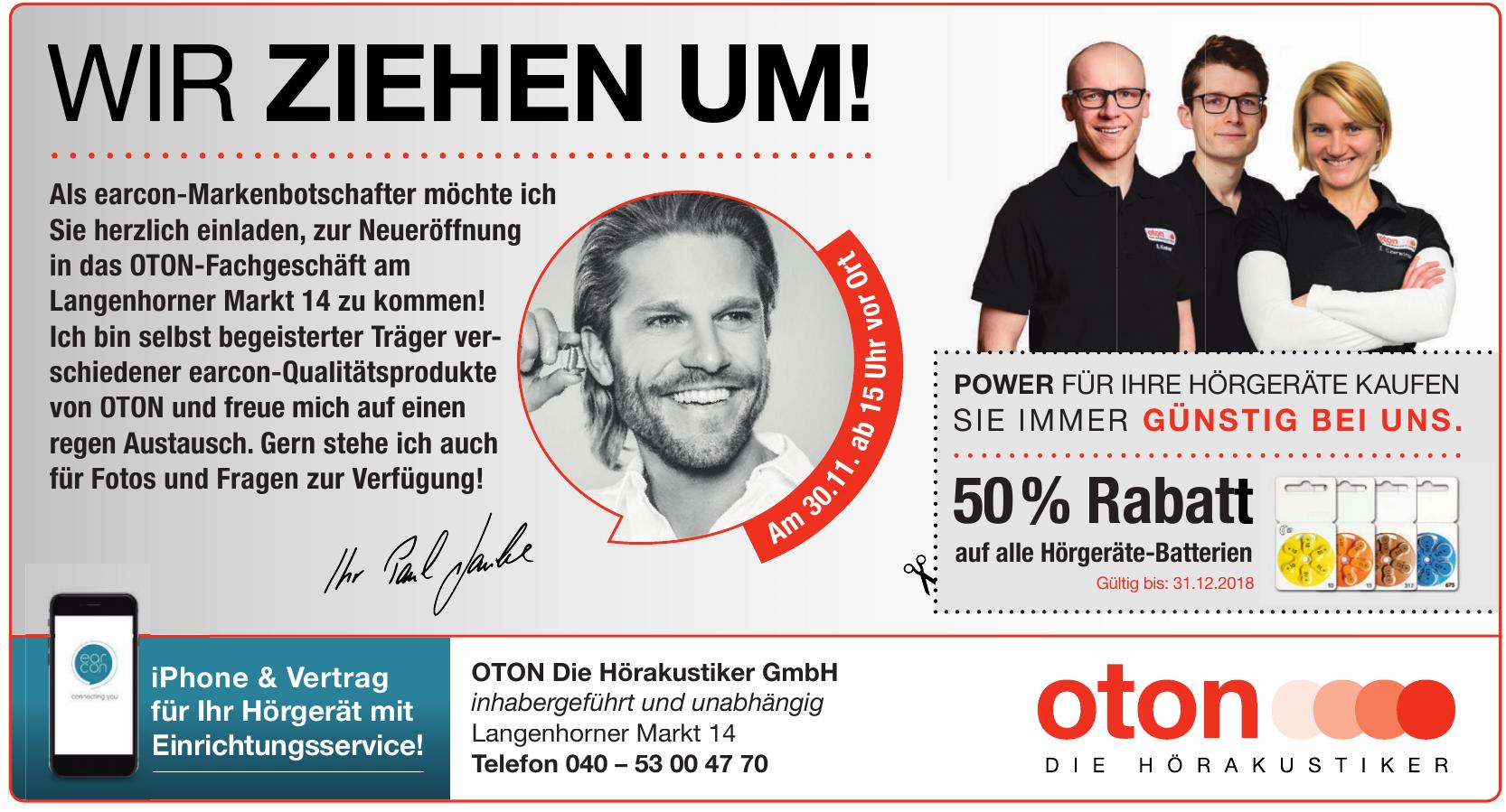OTON Die Hörakustiker GmbH
