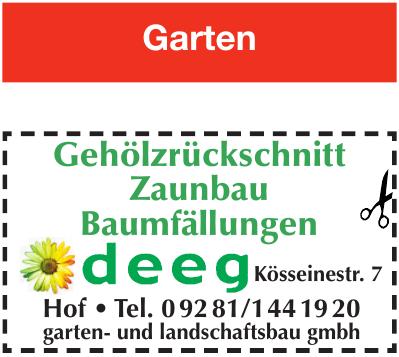 deeg garten- und landschaftsbau gmbh