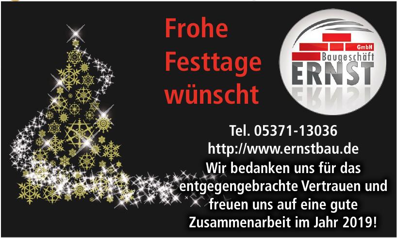 Ernst Baugeschäft GmbH