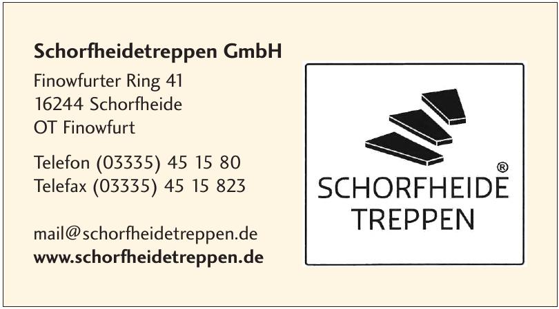 Schorfheidetreppen GmbH