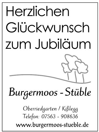 Burgermoos-Stüble