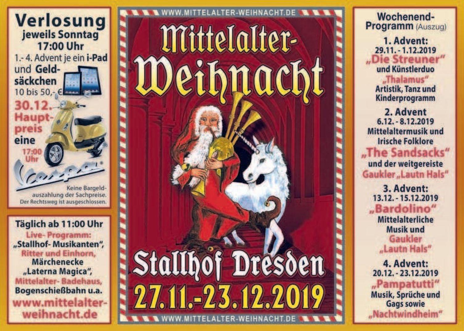 Mittelalter Weihnacht