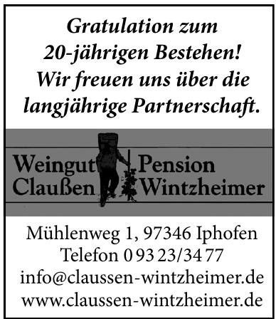 Weingut Penzion Claussen Wintzheimer