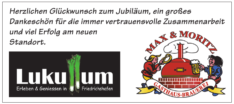 Gasthaus-Brauerei Max & Moritz GmbH