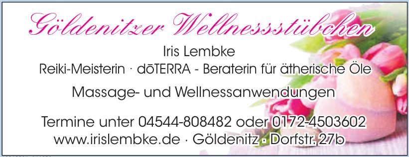 Göldenitzer Wellnessstübchen - Iris Lembke