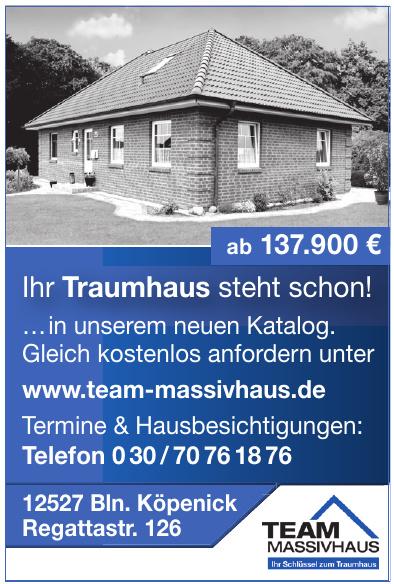 Team Massivhaus GmbH
