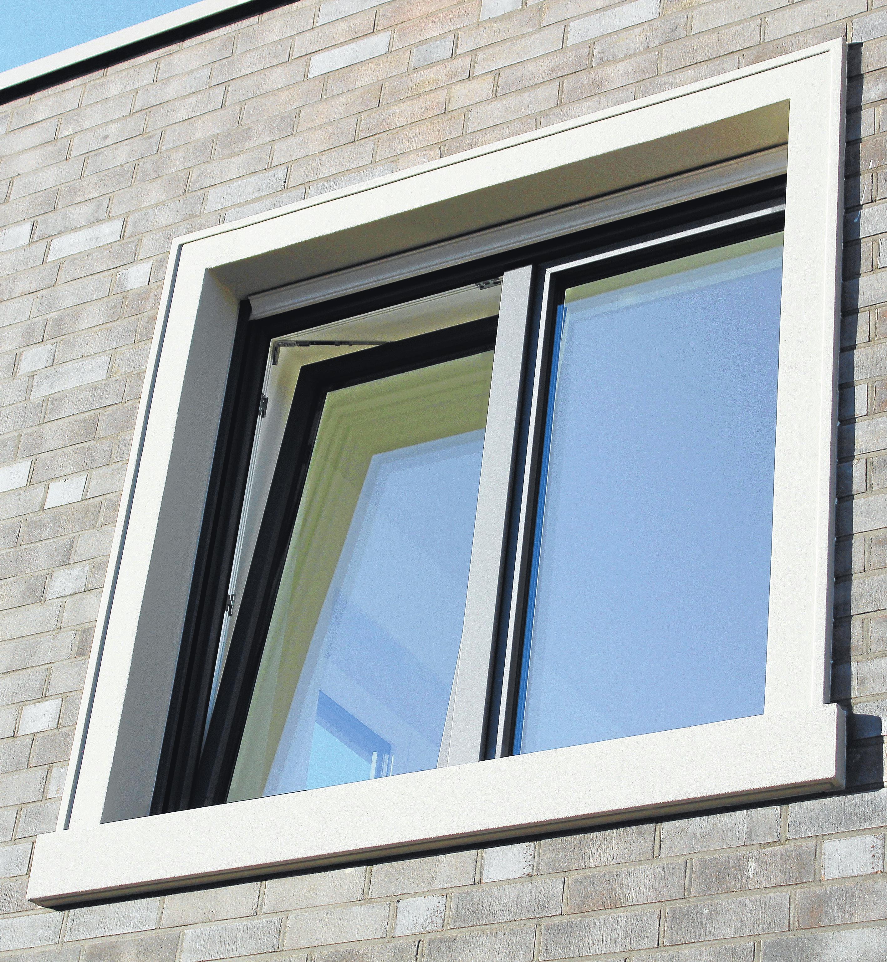 Dreifach verglaste Fenster: Optisch schick und Lärm schluckend.