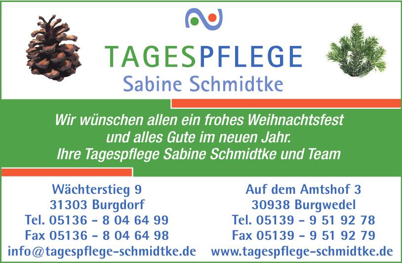 Tagespflege Sabine Schmidtke