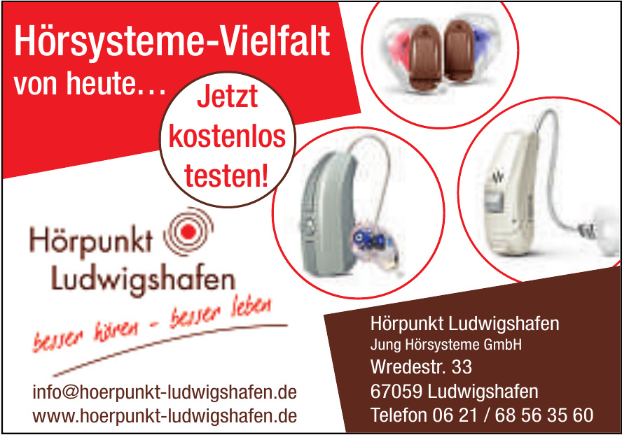 Hörpunkt Ludwigshafen Jung Hörsysteme GmbH