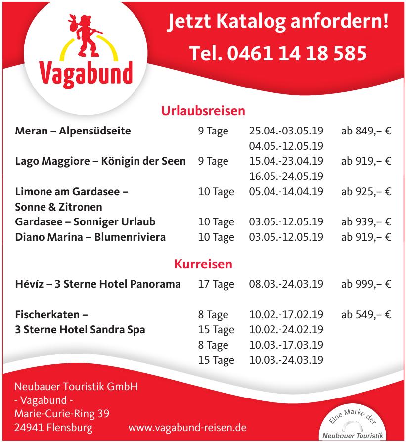 Neubauer Touristik GmbH - Vagabund