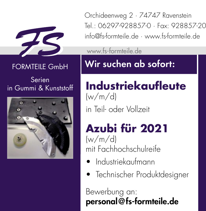 FS FORMTEILE GmbH