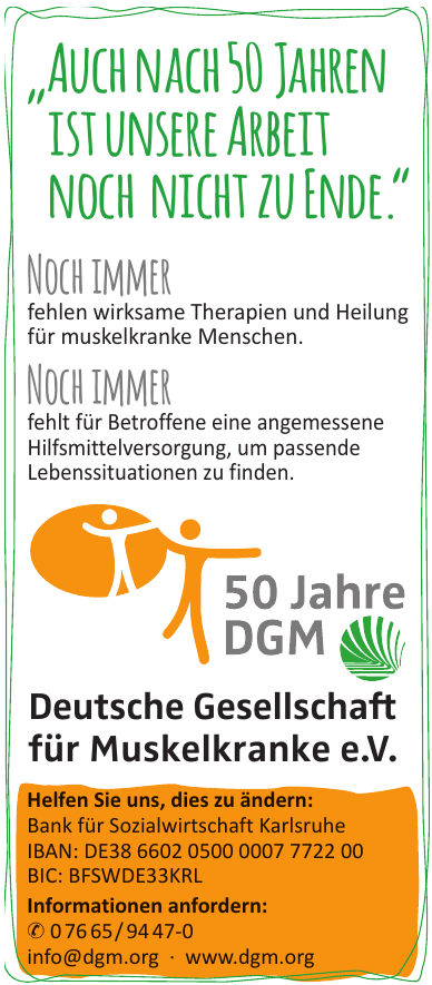 Deutsche Gesellschaft für Muskelkranke e.V.