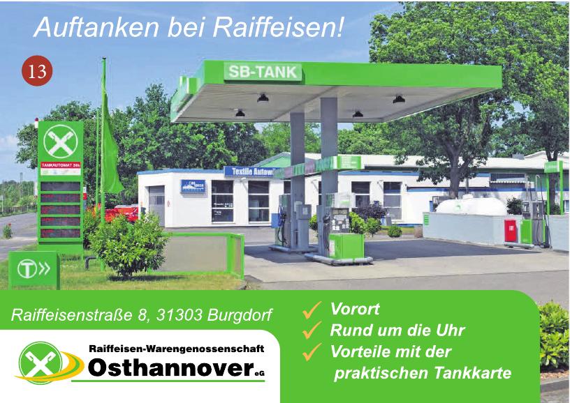 Raiffeisen-Warengenossenschaft Osthannover eG