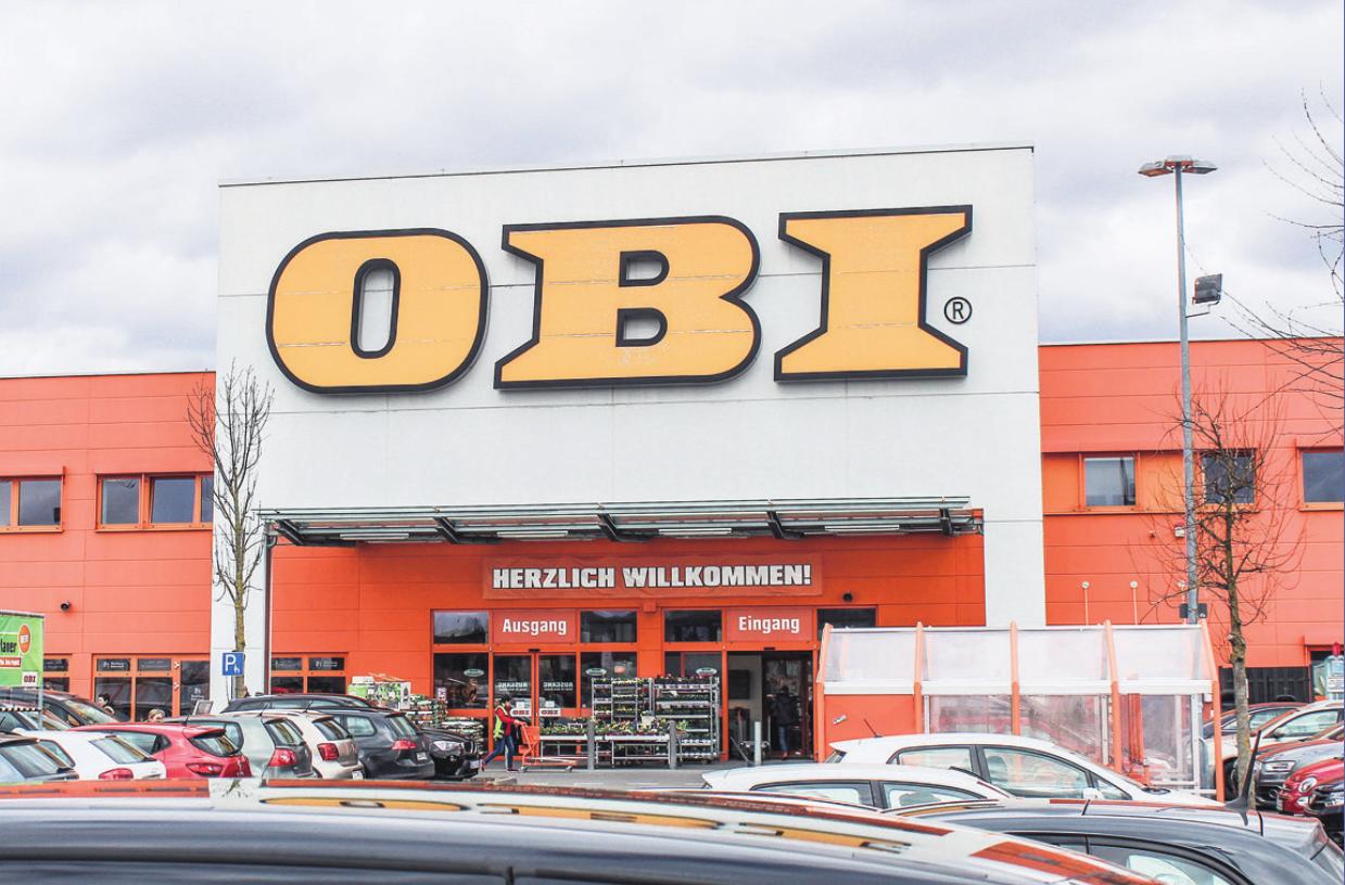 Das Serviceangebot des OBI Baumarktes auf der Lauterer Höhe lässt keine Wünsche offen. Foto: Pia Nowak
