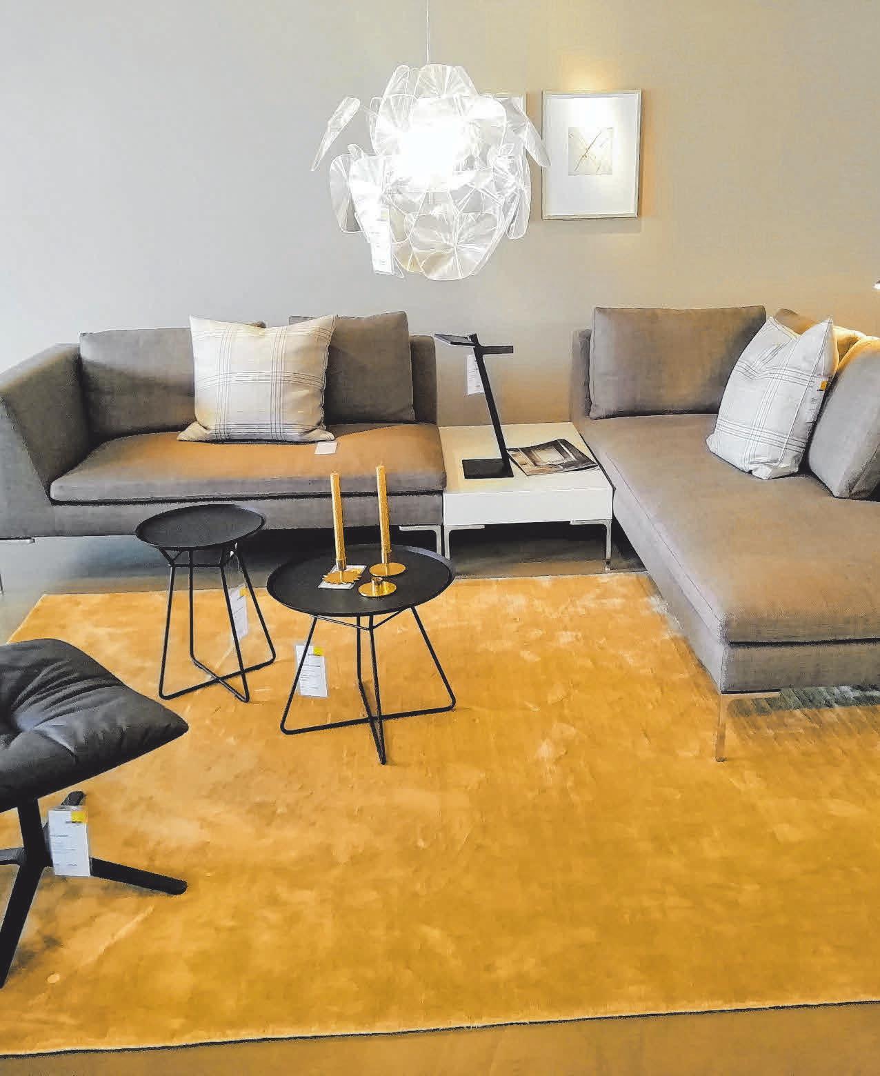 Eine 1000 Quadratmeter große Ausstellungsfläche inspiriert zu neuen Möbelträumen.