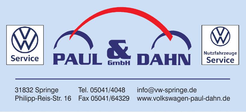 Paul & Dahn GmbH