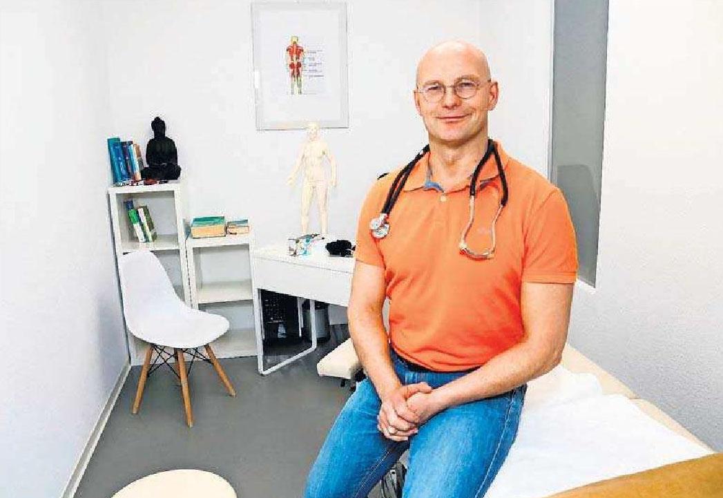 Physiotherapeut Torsten Gedes und sein Cura Med.-Team unterstützen Patienten mit speziellen Heilverfahren. Foto: z