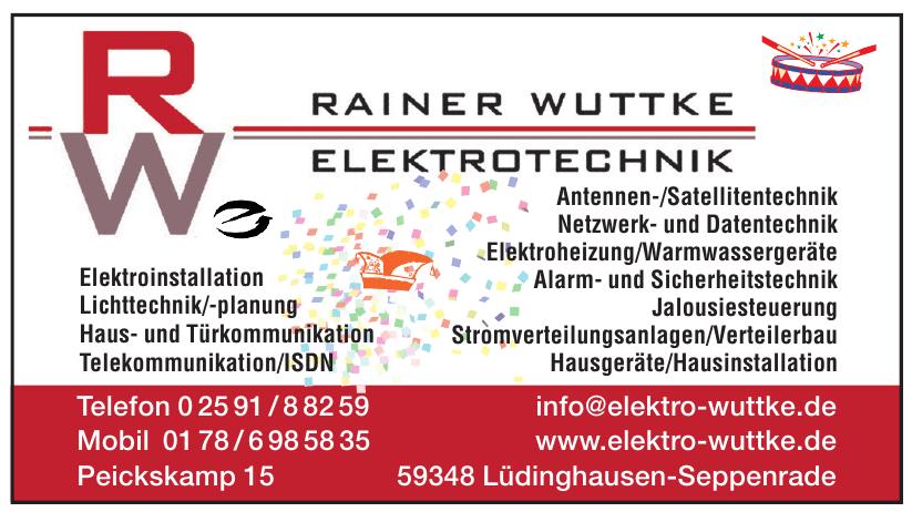 Elektrotechnik Wuttke