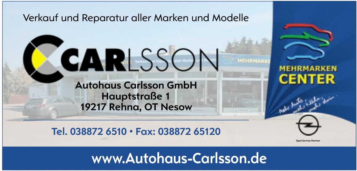 Autohaus Carlsson GmbH
