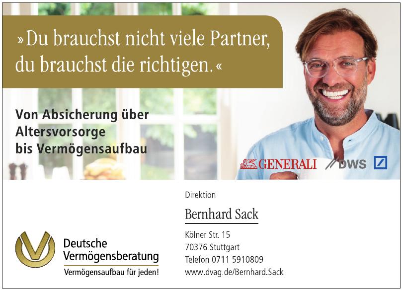 Deutsche Vermögensberatung Bernhard Sack
