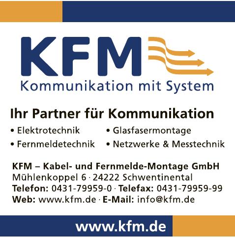 KFM - Kabel- und Fernmelde-Montage GmbH