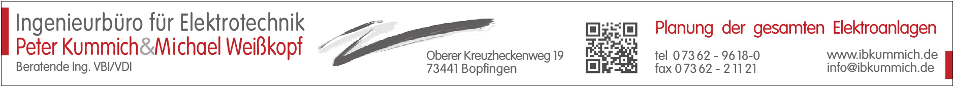 Ingenieurbüro für Elektrotechnik Peter Kummich & Michael Weißkopf